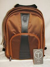 Tumi Forsyth Computer Backpack Orange Grey Black Laptop Bag Brief Pack Carry-on