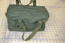 """military style tool bag 11"""" x 5"""" x 6"""" w/ handle OD green mechanic pouch carry"""