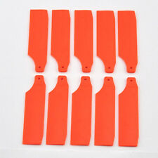5 Pair Orange 450 SPORT PRO V2 Tail Rotor Blade For ALIGN T-REX H45035 Rc Heli