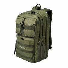 """Eddie Bauer Cargo Pack Backpack - Moss Gray - 19""""H x 12""""W x 7""""D"""