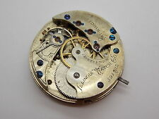 Vintage Antique Pocket watch movement Ladies circa 1885 Illinois Hunting 34.8mm