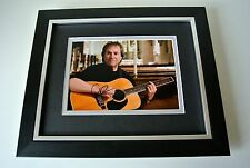 Chris de Burgh SIGNED 10X8 FRAMED Photo Autograph Display Music Lady in Red COA