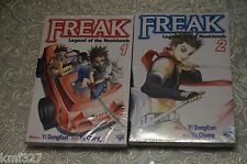 Lot of 2 Freak, Vol. 1, 2: Legend of the Nonblonds  v.1, 2  2006 by Dong-Eun, Yi