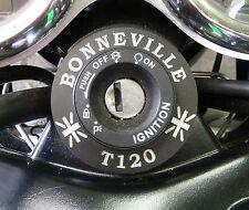 Zündschloß Umrandung Triumph Bonneville T120 Aluminium