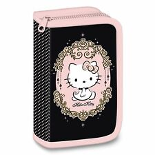 HELLO KITTY Pencil Case for GIRLS-  LOADED with pencils + FULL SCHOOL SUPPLIES