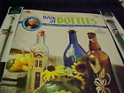 Priscilla Hauser Book of Bottles 35 Pages of Decorative Painting 2 Paint Brushes