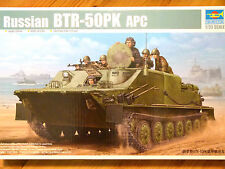 Trumpeter 1:35 BTR-50PK APC Russian Military Vehicle Model Kit