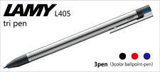 LAMY LOGO MULTI COLOR STAINLESS STEEL TRI COLOR BALLPOINT  PEN NEW IN BOX 405