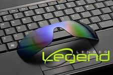 E34 PURPLE/GREEN ETCHED POLARIZED Replacement Legend Lenses For Oakley BATWOLF