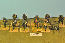 imperial guard cadian 10 & heavy weapon metal  (9499)
