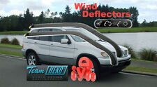 BMW X5 E53 2000-2006 5 Doors Wind Deflectors 2pcs HEKO (11135) for front door