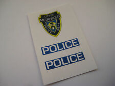 Corgi Juniors  17  Superman Police Car Stickers