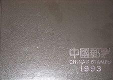 P R CHINA 1993 Year Set Jahrgang 2463-2514 Block 62-64 Fauna Flora Art Persons 2