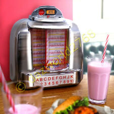 Steepletone Retro BT Diner Select-O-Matic BlueTooth, USB/SD, FM Radio Jukebox
