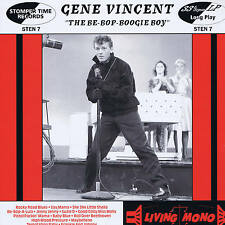 "GENE VINCENT - THE BE-BOP-BOOGIE BOY - (Deleted) U.K 10"" VINYL ROCKABILLY LP"