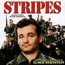 Stripes Soundtrack CD -  Elmer Bernstein - Varese OOP