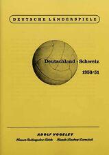 REPRINT Sammelbilder-Vogeley Länderspiele Deutschland : Schweiz 1950/51. REPRINT