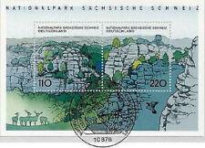 BRD 1998: Sächsische-Schweiz-Block Nr. 44! Berliner Ersttagsstempel! 1A! 1610