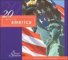 20 Best of Spirit of America by 101 Strings Orchestra (CD, Jan-2004, Madacy)