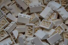 LEGO 40 x WHITE ROOF SLOPE BRICKS 2x3  No 3038 CITY-FRIENDS-STAR WARS-MOVIE