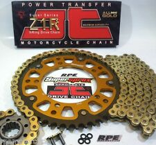HONDA VTR1000F SUPERHAWK JT GOLD 520 SUPERSPROX CHAIN & SPROCKETS KIT Quick Accl