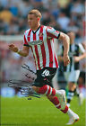 Connor WICKHAM Autograph SIGNED Sunderland 12x8 Photo AFTAL COA AUthentic RARE