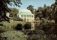 Bad Wildungen  -  Seerosenteich im Kurpark mit Konzerthalle  -  ca.1980
