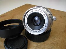 Leica 35mm Summaron f/3.5 Lens in Leica M Mount EXC+++ ** Nice Glass** But Haze