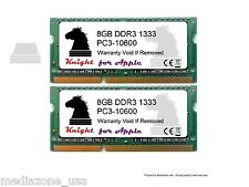 16GB (2X8GB) DDR3 1333 MHZ SODIMM FOR APPLE MacBook Pro