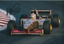 Martin BRUNDLE 12x8 SIGNED Formula 1 Peugeot Photo Genuine Autograph AFTAL COA