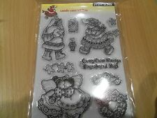 Penny Black candy cane wishes brand new rubber stamps