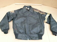 Vintage Hondaline Honda Goldwing Black Zip out Liner Nylon Motorcycle Jacket LRG