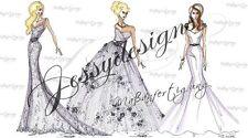 Brautkleid Hochzeitskleid Ballkleid 32-46 Übergröße Maßanfertigung Wunschfarbe