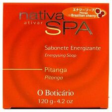 O Boticario - Nativa SPA Sabonete PITANGA - Brazilian Cherry Energizing BAR SOAP