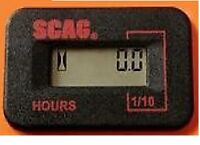 Scag Digital Hour Meter 483537 New OEM Scag Part Fits All Models Free Shipping