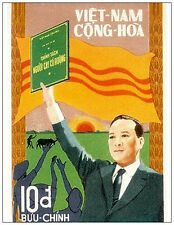 SOUTH VIETNAM (VNCH). President Thieu. Collection Postcard. New. Unused. VNCH 2