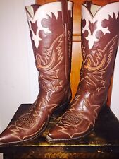 Mens Cowboy Boots 9D Custom Made!!