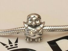 GENUINE PANDORA STERLING SILVER CUTE BABY CHICK CHARM 790528 RETIRED & RARE