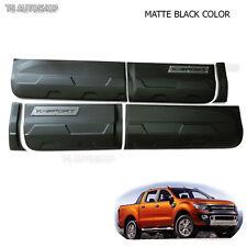 Side Body Door Cladding Matte Black Off-Road FORD Ranger 4DR T6 PX 12 13 14 15