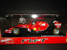 Hot Wheels Ferrari F1 F14 T 2014 Fernando Alonso 1/18