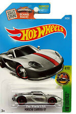 2016 Hot Wheels #74 HW Exotics Porsche Carrera GT ZAMAC