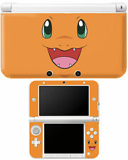 POKEMON Charmander Nintendo 3DS XL Autocollant Peau Vinyle couverture geek / gamer
