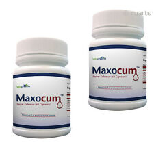 MaxoCum pills 2 month supply. Increase Semen Volume Maxo Cum Sperm load pills