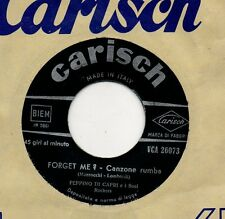 PEPPINO DI CAPRI disco 45 giri MADE in ITALY Nun e peccato + Forget me