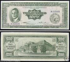 Philippines Banknote 200 Pesos 1949 UNC