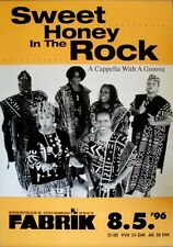 SWEET HONEY IN THE ROCK - 1996 - Konzertplakat - A Capella - Tourposter - Hambur