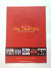 Drifters Official Tour Book Programme - Five Decades and Moore