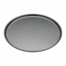 kitchenCraft-Masterclass Perforated Crusty Bake 32cm N/S Round PIzza CookingTray