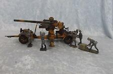 Circa 1938/9 lineol modello No. 1230 Flak 36 88mm ANTI AIRCRAFT GUN di latta