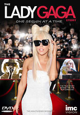DVD:THE LADY GAGA STORY - ONE SEQUIN AT A TIME - NEW Region 2 UK